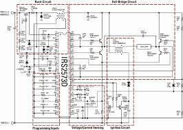 creating an hid ballast constant lamp power control figure 1 hid ballast schematic