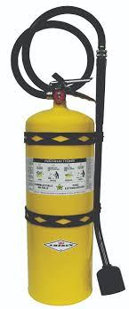 Class D Stored Pressure Dry Powder Extinguisher Amerex Fire