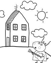 Printable Peppa Pig Coloring Pages For Free George Mummy Daddy
