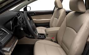 interior of a 2018 outback limited