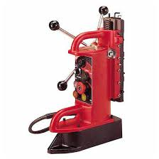 electromagnetic drill press base fixed position milwaukee tool