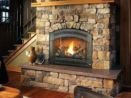 using gas starter wood burning fireplace for ho grate firepla