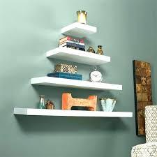 white shelf floating wall bookcase shelves uk