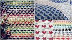 Crochet Heart Blanket Pattern