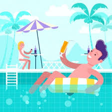Swimming pool free vector download 345 Free vector for commercial