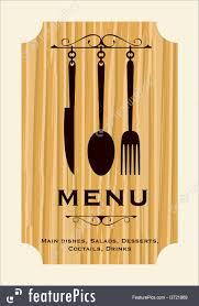 Restaurant Menu Book Design Templates Restaurant Menu Design Stock Illustration