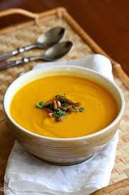 Low fat butternut squash soup recipe