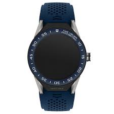 tag heuer watches quality swiss watches ernest jones watches tag heuer connected modular 45 blue strap smart watch product number 6380581