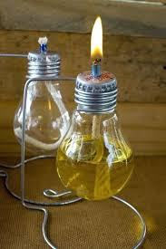 diy oil lamp light bulb oil lamps designed to be secured to a le surface with