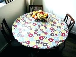 vinyl card table covers round table cover with elastic vinyl covers fitted cloth large tablecloth edge