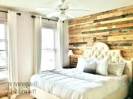 wood accent wall bedroom 2 walls in upholstered queen headboard