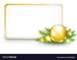 or new year frame vector image