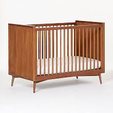 mid century modern baby furniture. Mid-Century Convertible Crib - Acorn Mid Century Modern Baby Furniture E