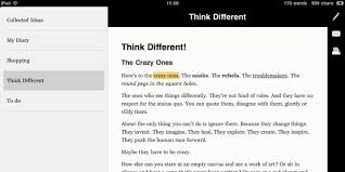 essay ipad rich text editor shows promise needs work wired