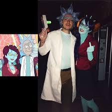 Horror Cartoon Character Inspired Halloween Couple Costume Via
