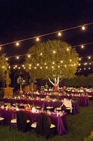 backyard wedding lighting ideas. gorgeous outdoor wedding love the idea of a night if its backyard lighting ideas g