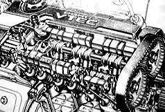 vtec using vtec to link up all three rocker arms together honda is able to use either the mild or the wild cam lobes at will