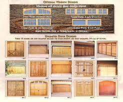 garage door typesWooden Garage Doors