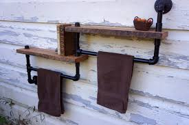 outdoor spa towel rack