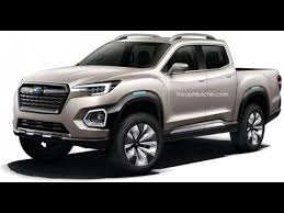 2017 Subaru pick-up rendered, based on Viziv-7 concept - YouTube