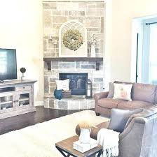 living room with stone fireplace with tv. Stone Fireplace Tv Stand Cozy Corner Ideas For Your Living Room Electric With