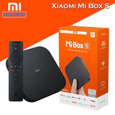 Android Tivi Box Xiaomi Mibox S - Hàng Digiworld phân phối chính hãng