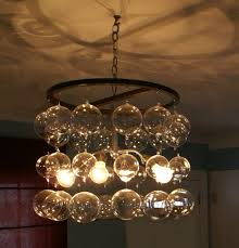unique glass ball chandelier 11 about remodel home decorating ideas with glass ball chandelier