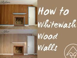 whitewash oak furniture. How To Whitewash Or Pickle Wood Walls Oak Furniture