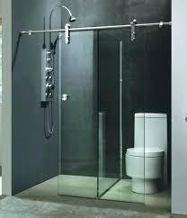 breathtaking glass shower barn door glass shower barn door amazing sliding glass shower doors in chic