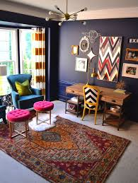 office space colors. full shot of the office complete with home goods accessories mini fur rug adds space colors