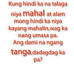 Heart Broken Sad Tagalog Love Quotes