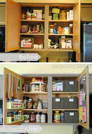 Kitchen Organization Ideas For Storage On The Inside Of The Kitchen Cabinets By Small Kitchen Organization Kitchen Organization Kitchen Cabinet Organization