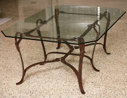 coffee table ideas wrought iron coffee table glass how to re wrought iron end tables