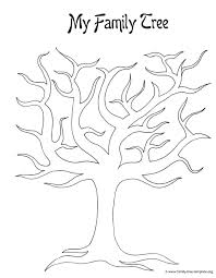 Drawing A Family Tree Template Blank Family Tree Template Yahoo Image Search Results