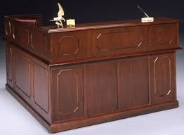 reception office desks. DMI Governors Series Mahogany Reception Desk Office Desks