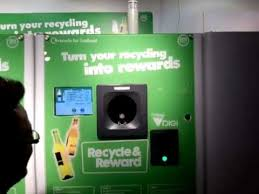 Reverse Vending Machine Recycling New Reverse Vending Recycling Machine IKEA Edinburgh YouTube