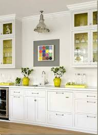 Naples Yellow Color Grey And Yellow Kitchen Decor