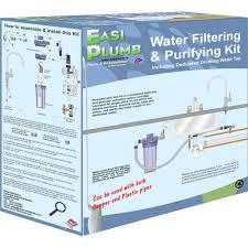 Purifying Drinking Water Easi Plumb Water Filtering Purifying Kit Water Filtration
