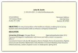 Resume Sample Career Objective For Resume Intended For Resume