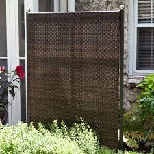 Versare Outdoor Wicker Resin Room Divider - Outdoor Privacy Screens at  iRoom Dividers