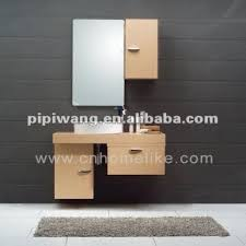 modern 100 cm bamboo wall mounted