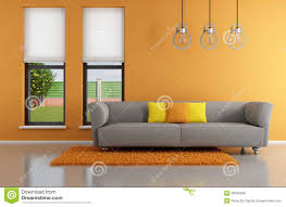 Orange And Grey Living Room Grey And Orange Living Room Home