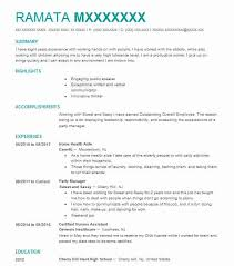 Home Health Aide Resume Awesome Best Home Health Aide Resume Example LiveCareer