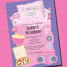 free sleepover invitation templates free slumber party invitation templates popular invitations for