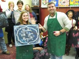 painting with a twist college station tx little did heather know brad