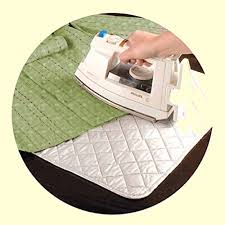 MareLight Magnetic Ironing Mat Laundry Pad 19 x 33.5 Inch ... & ... MareLight Magnetic Ironing Mat Laundry Pad 19 x 33.5 Inch - Quilted  Ironing Blanket Grey Tabletop Adamdwight.com