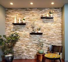 wall accent lighting. Stone Wall Accent Lighting Choosing The Ideal Color For Your Dining Room