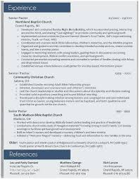 Pastoral Resume Fascinating Pastors Resume Sample Pastor Resume Sample Perfect How To Do A