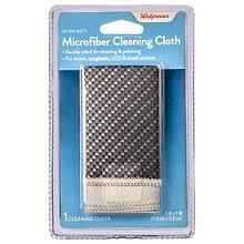 Walgreens <b>Double</b>-<b>Sided Cleaning</b> Cloth Black   Walgreens