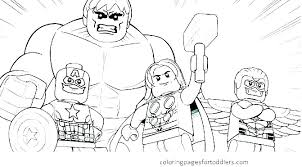 Printable Marvel Coloring Pages Lego Marvel Super Heroes Colouring